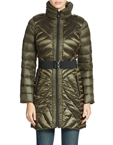 BERNARDO Packable Puffer Coat