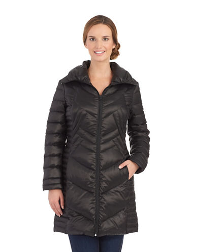 BERNARDO Packable Quilted Coat