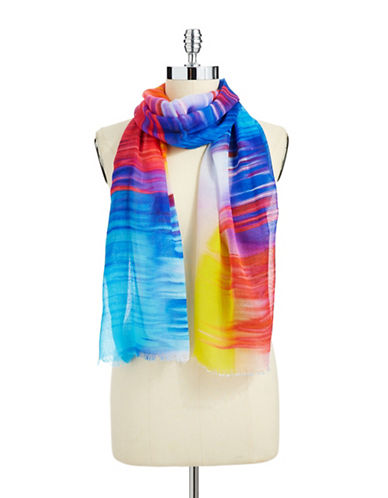 ECHO Brush Striped Scarf