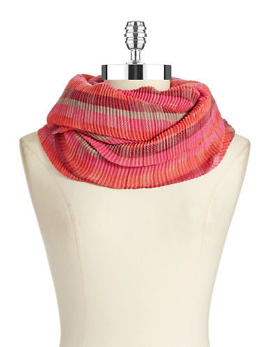 ECHO Pleated Infinity Look Scarf