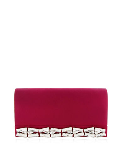 nina female alicyn studded convertible clutch