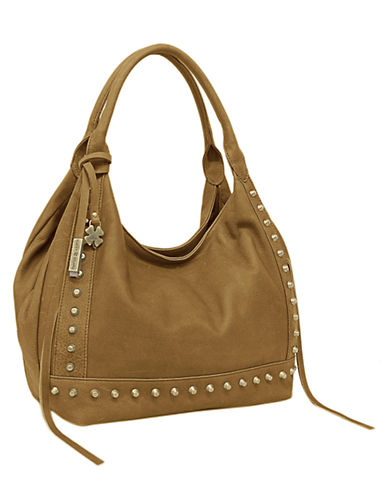LUCKY BRANDStudded Leather Tote Bag