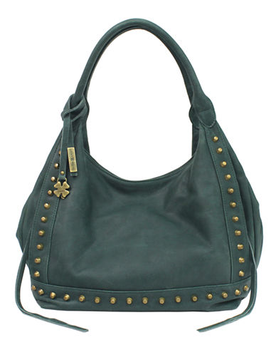 LUCKY BRAND Studded Leather Tote Bag