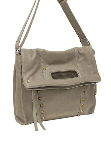 LUCKY BRANDAbbey Road Studded Leather Crossbody Bag