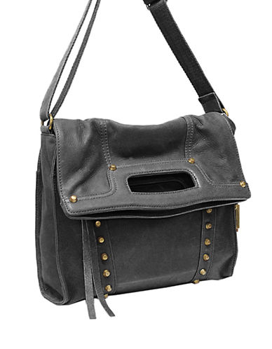 LUCKY BRAND Abbey Road Studded Leather Crossbody Bag