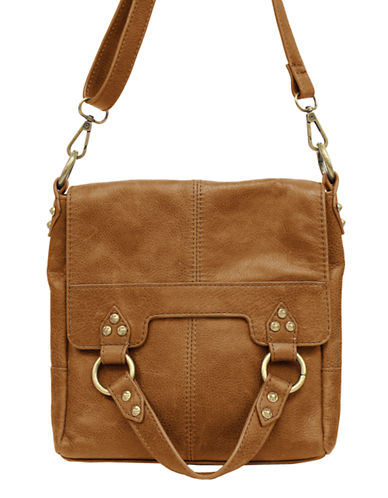 LUCKY BRANDPixie Leather Flap Crossbody Bag