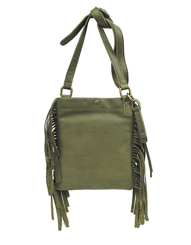 Lucky Brand Rickey Mini Leather Crossbody Bag
