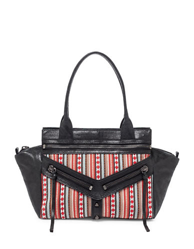 botkier new york female trigger small leather satchel