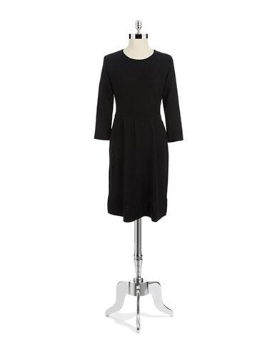 SPENSEThree Quarter Sleeve Sweater Dress