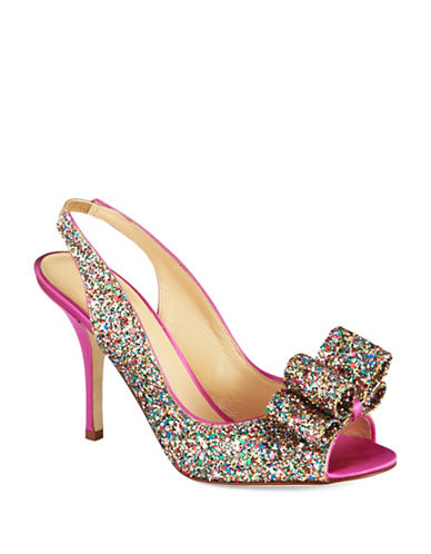 KATE SPADE NEW YORK Charm Slingback Pumps