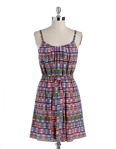 Shop Suzi Chin online and buy Suzi Chin Printed Shift Dress dress online