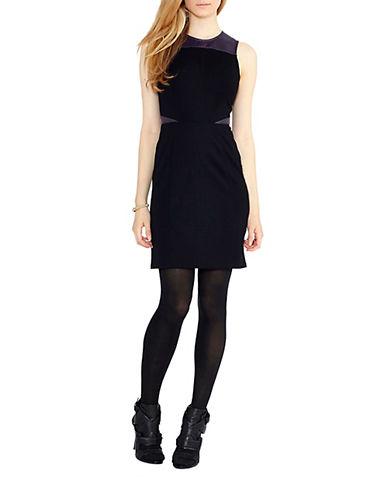 ALI ROSleeveless Colorblock Shift Dress