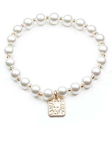 ANNE KLEINPearl Stretch Bracelet