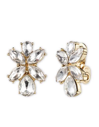 ANNE KLEINRhinestone Cluster Earrings