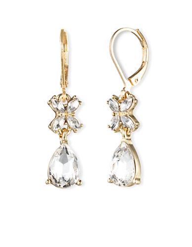 ANNE KLEINRhinestone Drop Earrings