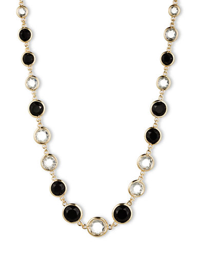 ANNE KLEINFaceted Crystal Collar Necklace