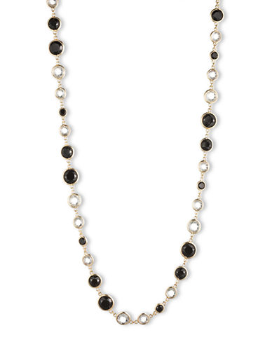 ANNE KLEINFaceted Crystal Long Necklace