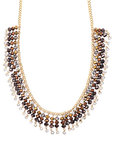 LONNA & LILLYMulti Bead Frontal Necklace