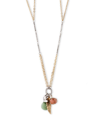 LONNA & LILLYTwo Tone Mixed Charm Necklace