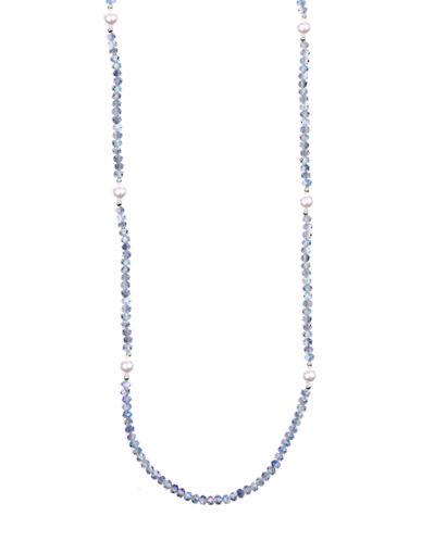 Anne Klein Mixed Media Strand Necklace