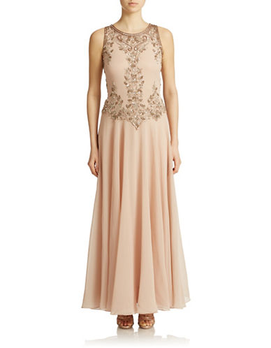 Beaded Bodice Gown $269.00 AT vintagedancer.com