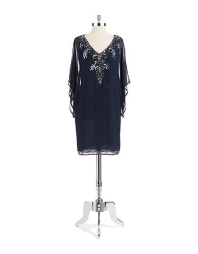 J KARASequin Kimono Dress