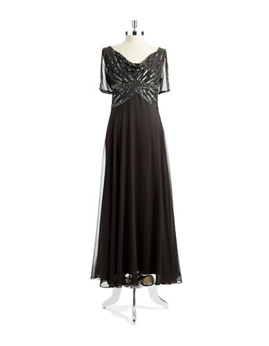 Petite Beaded Gown $209.19 AT vintagedancer.com