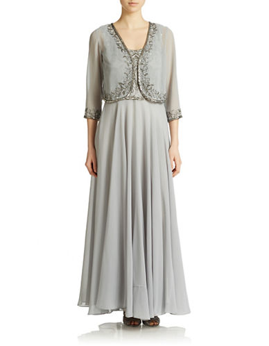 Beaded Gown and Jacket $239.20 AT vintagedancer.com