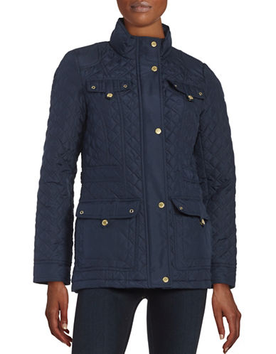 weatherproof female 124005 quilted parka jacket