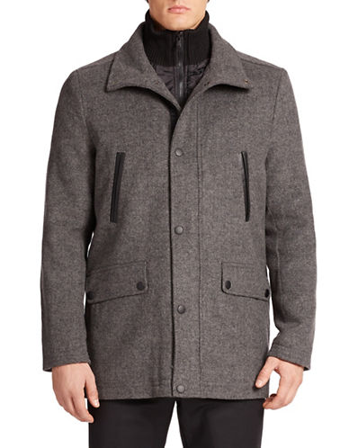 KENNETH COLE NEW YORK Jacket With Inner Bib