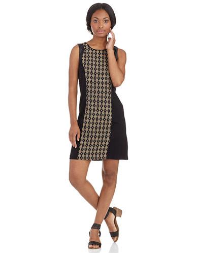 Shop Kensie online and buy Kensie Patterned Sheath Dress dress online