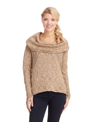 KENSIE Cowl Neck Sweater