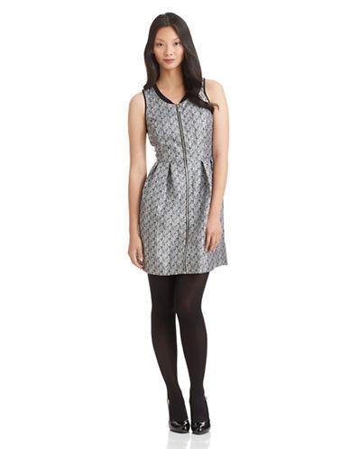 KENSIEFit and Flare Zip Dress