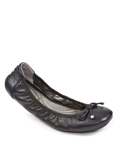 ME TOO Halle Ballet Flats with Bow Accent