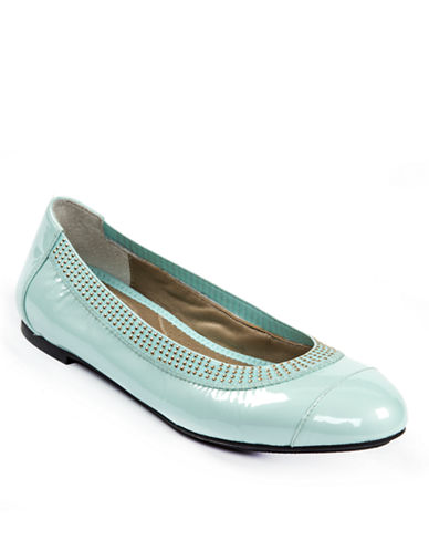 ME TOOKailani Patent Leather Embellished Flats
