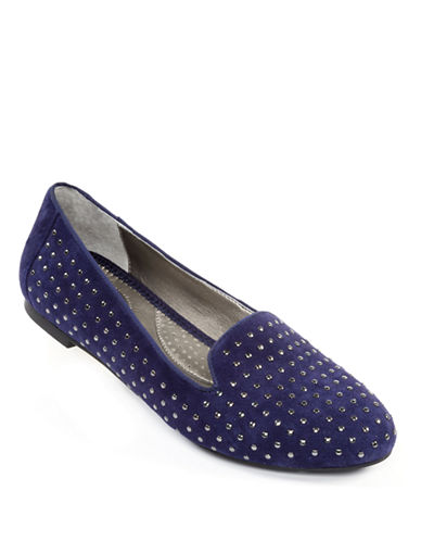ME TOOKarson Suede Studded Flats