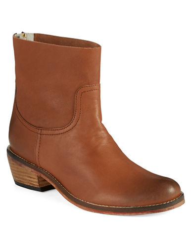 ADAM TUCKERPlaza Leather Ankle Boots