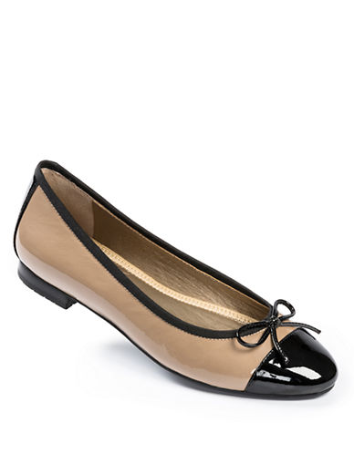 ME TOO Bally Patent Leather Flats