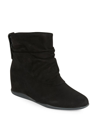 ME TOOSuede Wedge Ankle Boots