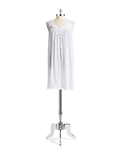 EILEEN WESTBicycle Patterned Sleep Shirt