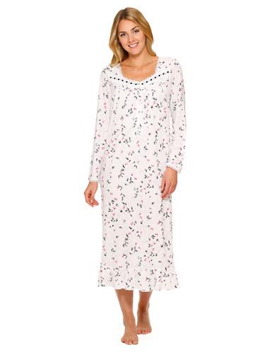EILEEN WESTFloral Print Long Nightgown