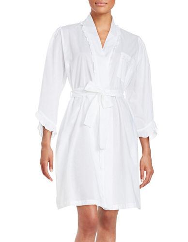 eileen west female cotton bathrobe