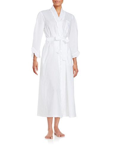 eileen west female 45883 cotton bathrobe