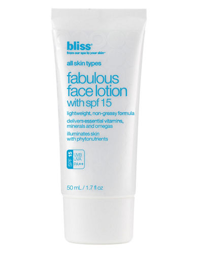 BLISSFabulous Face Lotion with SPF 15