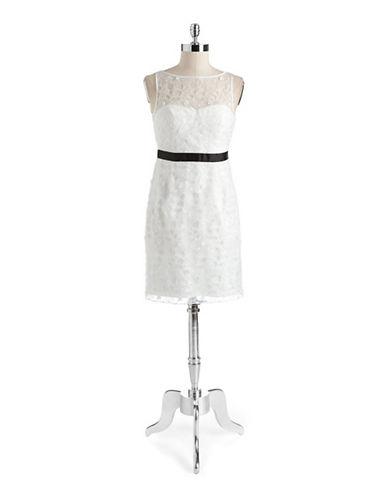 AIDAN MATTOXDaisy Lace Cocktail Dress
