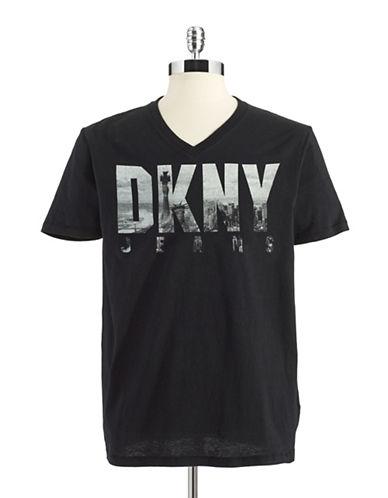 DKNY JEANSV-Neck T-Shirt