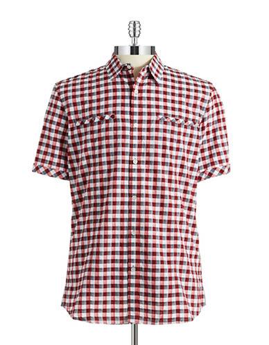 DKNY JEANSCheckered Sport Shirt