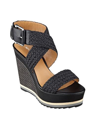 NINE WESTWaldrid Wedge Sandals