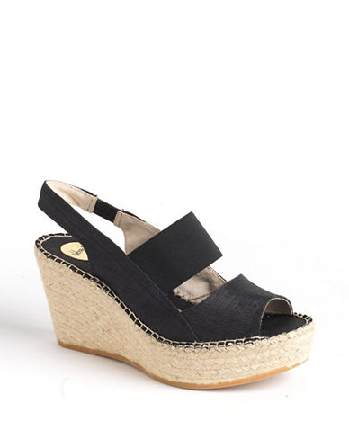 VIDORRETAGloria Slingback Wedge Sandals