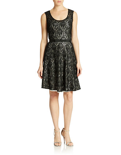 PLENTY BY TRACY REESEFit-and-Flare Lace Dress